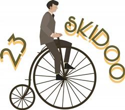 23 Skidoo print art