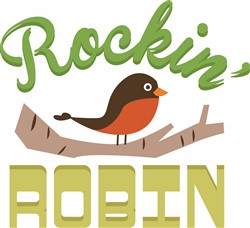 Cartoon Robin print art