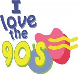 90s Retro print art