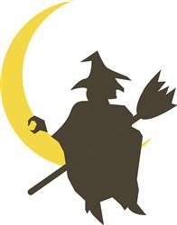 Halloween Witch print art