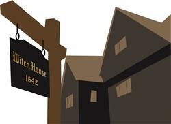 Salem Witch House print art