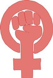 Feminist Symbol print art