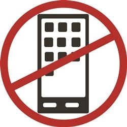 Anti Cell Phone print art