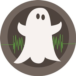 Ghost Hunter Logo print art
