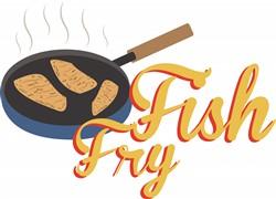 Fish Fry Food print art