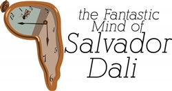 Salvador Dalis Mind print art