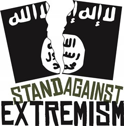 Stand Against Extremism print art