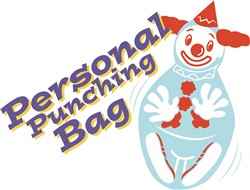 Personal Punching Bag print art