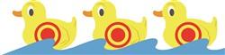 Shooting Gallery Ducks print art