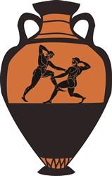 Greek Vase print art