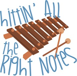 All Right Notes print art