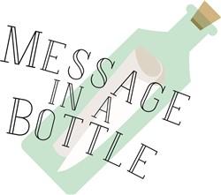 Message In A Bottle print art
