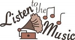 Listen To Music print art