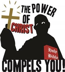 Power Of Christ print art