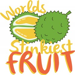 Stinkiest Fruit print art