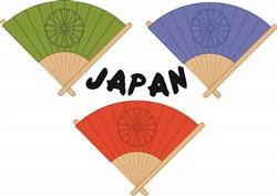Japan Fans print art
