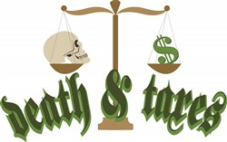 Death & Taxes print art