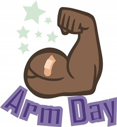 Arm Day print art