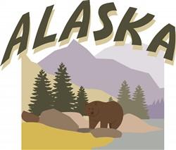 Alaska print art