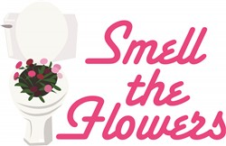 Smell Flowers print art