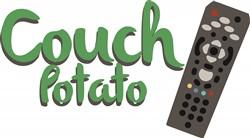 Couch Potato print art