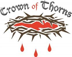 Crown of Thorns print art
