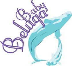 Baby Beluga print art