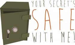 Secrets Safe print art