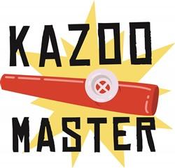 Kazoo Master print art