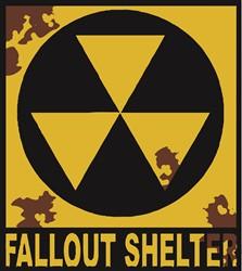 Fallout Sign print art