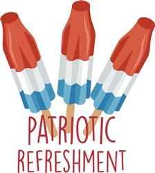 Patriotic Refreshment print art
