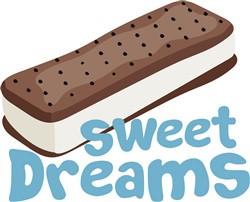 Sweet Ice Cream Sandwich print art