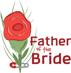 Father Of Bride print art