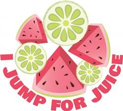 Jump For Juice print art