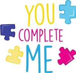 You Complete Me print art