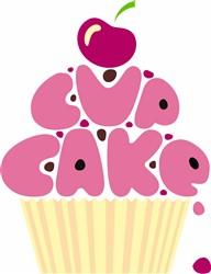 Cupcake print art