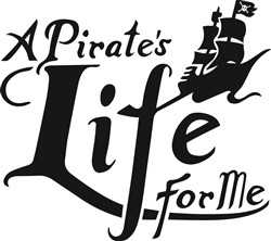 Pirate Life For Me print art