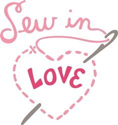Sew In Love print art