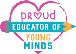 Proud Educator Of Young Minds print art