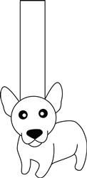 Chihuahua Puppet print art