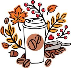 Fall Coffee print art