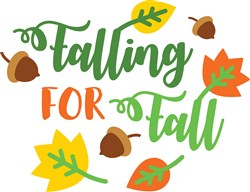 Falling For Fall print art
