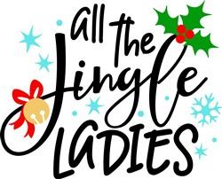 All The Jingle Ladies print art