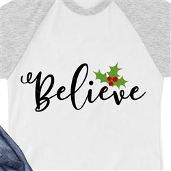 Believe Holly print art