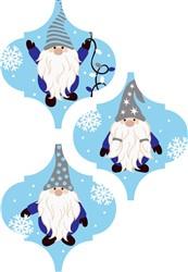 Christmas Gnome Ornaments print art