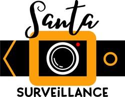 Santa Surveillance print art