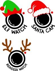 Christmas Cams print art