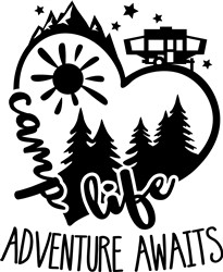Pop Up Adventure Awaits print art