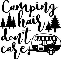 Camper Hair Dont Care print art