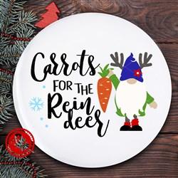 Carrots For The Reindeer print art